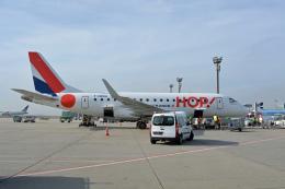 ktaroさんが、フランクフルト国際空港で撮影したエールフランス・オップ! ERJ-170-100 (ERJ-170STD)の航空フォト(飛行機 写真・画像)