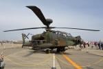 徳兵衛さんが、明野駐屯地で撮影した陸上自衛隊 AH-64Dの航空フォト(写真)