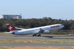 ま~くんさんが、成田国際空港で撮影したスイスインターナショナルエアラインズ A340-313Xの航空フォト(写真)