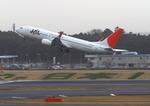 ふじいあきらさんが、成田国際空港で撮影したJALエクスプレス 737-846の航空フォト(写真)