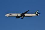 厦龙さんが、成田国際空港で撮影したキャセイパシフィック航空 777-367/ERの航空フォト(写真)