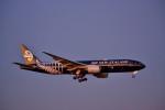厦龙さんが、成田国際空港で撮影したニュージーランド航空 777-219/ERの航空フォト(写真)