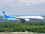 むらさめさんが、新千歳空港で撮影した全日空 777-281/ERの航空フォト(写真)