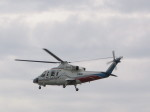 ひらひささんが、津市伊勢湾ヘリポートで撮影した山梨県防災航空隊 S-76Bの航空フォト(写真)
