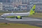 amagoさんが、福岡空港で撮影したジンエアー 737-8Q8の航空フォト(写真)