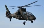 青い翼に鎧武者マークの!さんが、明野駐屯地で撮影した陸上自衛隊 OH-1の航空フォト(写真)