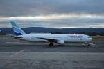 ktaroさんが、オスロ国際空港で撮影したユーロアトランティック・エアウェイズ 767-34P/ERの航空フォト(飛行機 写真・画像)