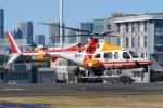 Chofu Spotter Ariaさんが、東京ヘリポートで撮影した朝日航洋 430の航空フォト(写真)