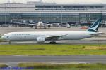 Chofu Spotter Ariaさんが、羽田空港で撮影したキャセイパシフィック航空 777-367の航空フォト(写真)