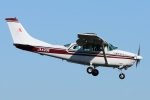 =JAかみんD=さんが、調布飛行場で撮影した朝日航空 TU206G Turbo Stationair 6の航空フォト(写真)