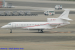 Chofu Spotter Ariaさんが、羽田空港で撮影したモナコ政府 - Monaco Goverment Falcon 7Xの航空フォト(飛行機 写真・画像)