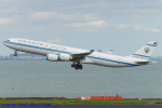 Chofu Spotter Ariaさんが、羽田空港で撮影したクウェート政府 A340-542の航空フォト(飛行機 写真・画像)