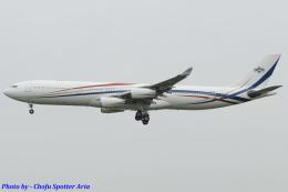 Chofu Spotter Ariaさんが、成田国際空港で撮影したスワジランド政府 A340-313の航空フォト(飛行機 写真・画像)