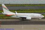 Chofu Spotter Ariaさんが、羽田空港で撮影したニジェール政府 737-75U BBJの航空フォト(飛行機 写真・画像)