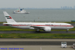 Chofu Spotter Ariaさんが、羽田空港で撮影したプレジデンシャル・フライト 777-2AN/ERの航空フォト(飛行機 写真・画像)