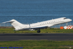 Chofu Spotter Ariaさんが、羽田空港で撮影したグローバル・ジェット・ルクセンブルク BD-700-1A10 Global Expressの航空フォト(飛行機 写真・画像)