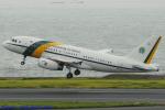 Chofu Spotter Ariaさんが、羽田空港で撮影したブラジル空軍 A319-133X CJの航空フォト(飛行機 写真・画像)