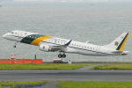 Chofu Spotter Ariaさんが、羽田空港で撮影したブラジル空軍 ERJ-190AR (VC-2)の航空フォト(飛行機 写真・画像)
