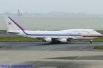 Chofu Spotter Ariaさんが、羽田空港で撮影した大韓民国空軍 747-4B5の航空フォト(飛行機 写真・画像)