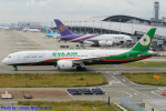 Chofu Spotter Ariaさんが、関西国際空港で撮影したエバー航空 787-9の航空フォト(飛行機 写真・画像)