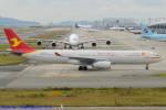 Chofu Spotter Ariaさんが、関西国際空港で撮影した天津航空 A330-343Xの航空フォト(飛行機 写真・画像)