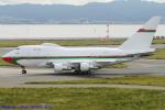 Chofu Spotter Ariaさんが、関西国際空港で撮影したオマーン・ロイヤル・フライト 747SP-27の航空フォト(飛行機 写真・画像)
