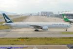 Chofu Spotter Ariaさんが、関西国際空港で撮影したキャセイパシフィック航空 777-367の航空フォト(写真)