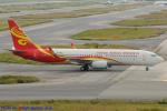 Chofu Spotter Ariaさんが、関西国際空港で撮影した海南航空 737-84Pの航空フォト(飛行機 写真・画像)
