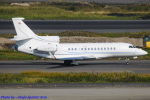 Chofu Spotter Ariaさんが、羽田空港で撮影したConcierge U Ltd Falcon 7Xの航空フォト(飛行機 写真・画像)