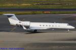 Chofu Spotter Ariaさんが、羽田空港で撮影したPremium Jet AG G-V-SP Gulfstream G550の航空フォト(飛行機 写真・画像)