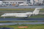 Chofu Spotter Ariaさんが、羽田空港で撮影したCMG GIV1119 LLC G-V Gulfstream Vの航空フォト(飛行機 写真・画像)