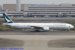 Chofu Spotter Ariaさんが、羽田空港で撮影したキャセイパシフィック航空 777-31Hの航空フォト(写真)
