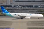 Chofu Spotter Ariaさんが、羽田空港で撮影したガルーダ・インドネシア航空 A330-243の航空フォト(写真)