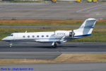 Chofu Spotter Ariaさんが、羽田空港で撮影したJet West LLC G-IV Gulfstream IVの航空フォト(飛行機 写真・画像)
