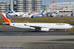 Chofu Spotter Ariaさんが、羽田空港で撮影したフィリピン航空 A330-343Xの航空フォト(写真)