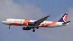 やまちゃんさんが、仁川国際空港で撮影したマカオ航空 A321-231の航空フォト(飛行機 写真・画像)