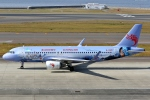 SKY TEAM B-6053さんが、中部国際空港で撮影した長竜航空 A320-214の航空フォト(写真)