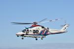 蒼い鳩さんが、福井空港で撮影した三重県防災航空隊 AW139の航空フォト(写真)
