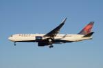 senbaさんが、成田国際空港で撮影したデルタ航空 767-332/ERの航空フォト(写真)