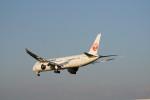 senbaさんが、成田国際空港で撮影した日本航空 787-9の航空フォト(写真)