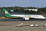 あしゅーさんが、成田国際空港で撮影したエバー航空 787-9の航空フォト(飛行機 写真・画像)