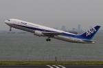 Hiro-hiroさんが、羽田空港で撮影した全日空 767-381/ERの航空フォト(写真)