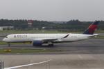 Shibataさんが、成田国際空港で撮影したデルタ航空 A350-941XWBの航空フォト(飛行機 写真・画像)