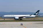 panchiさんが、関西国際空港で撮影したキャセイパシフィック航空 A350-941XWBの航空フォト(飛行機 写真・画像)