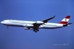 tassさんが、成田国際空港で撮影したオーストリア航空 A340-313Xの航空フォト(写真)
