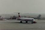 ヒロリンさんが、ベルリン・シェーネフェルト空港で撮影したGermany Air Force Il-62Mの航空フォト(写真)