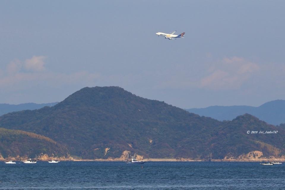 JJ✈さんのアトラス航空 Boeing 747-400 (N489MC) 航空フォト