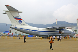 ちゃぽんさんが、珠海金湾空港で撮影したロシア空軍 Il-76MDの航空フォト(飛行機 写真・画像)