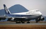 LEVEL789さんが、松山空港で撮影した全日空 747SR-81の航空フォト(写真)