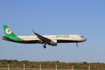 516105さんが、鳥取空港で撮影したエバー航空 A321-211の航空フォト(写真)